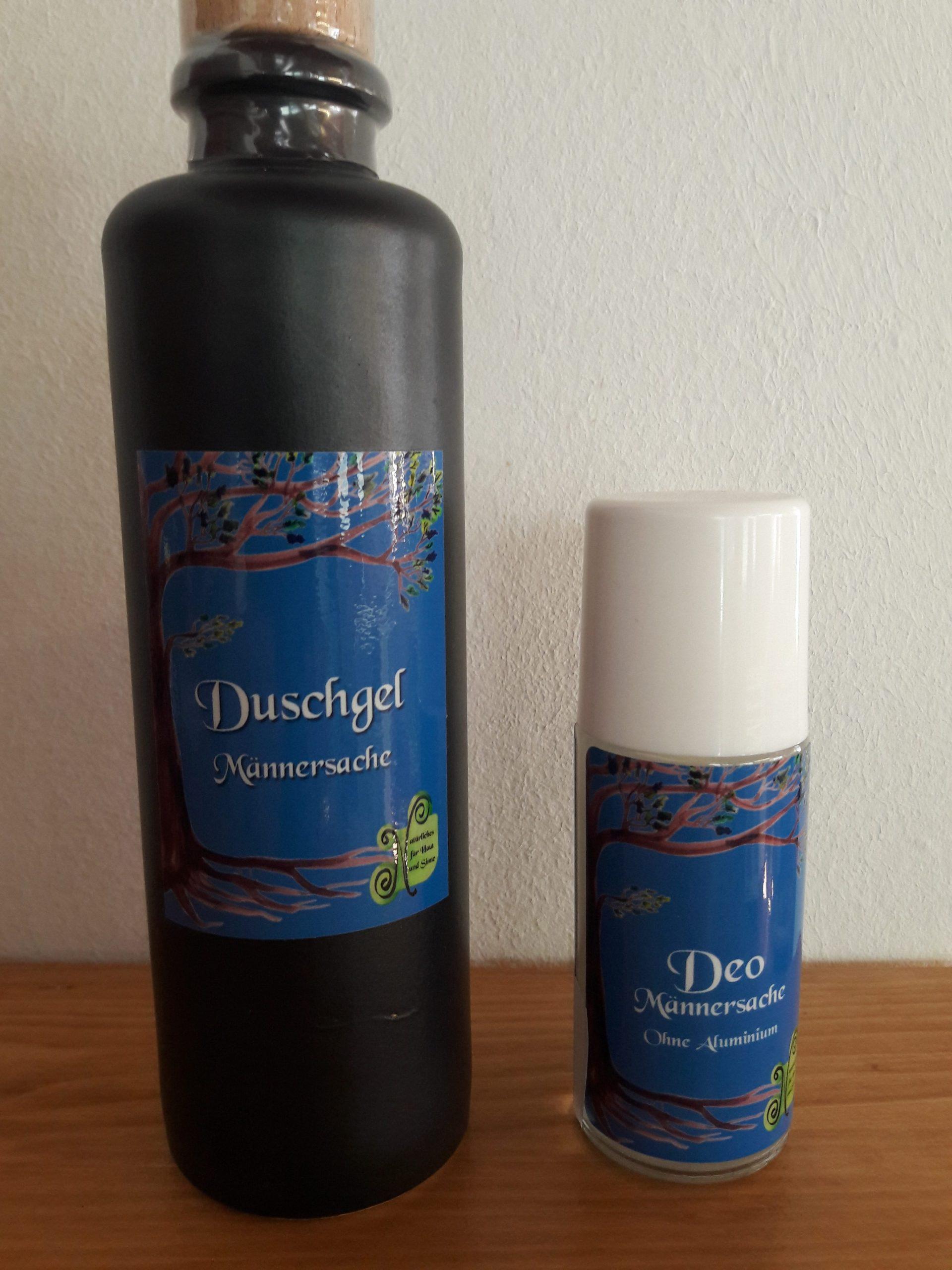 Duschgel und Deo
