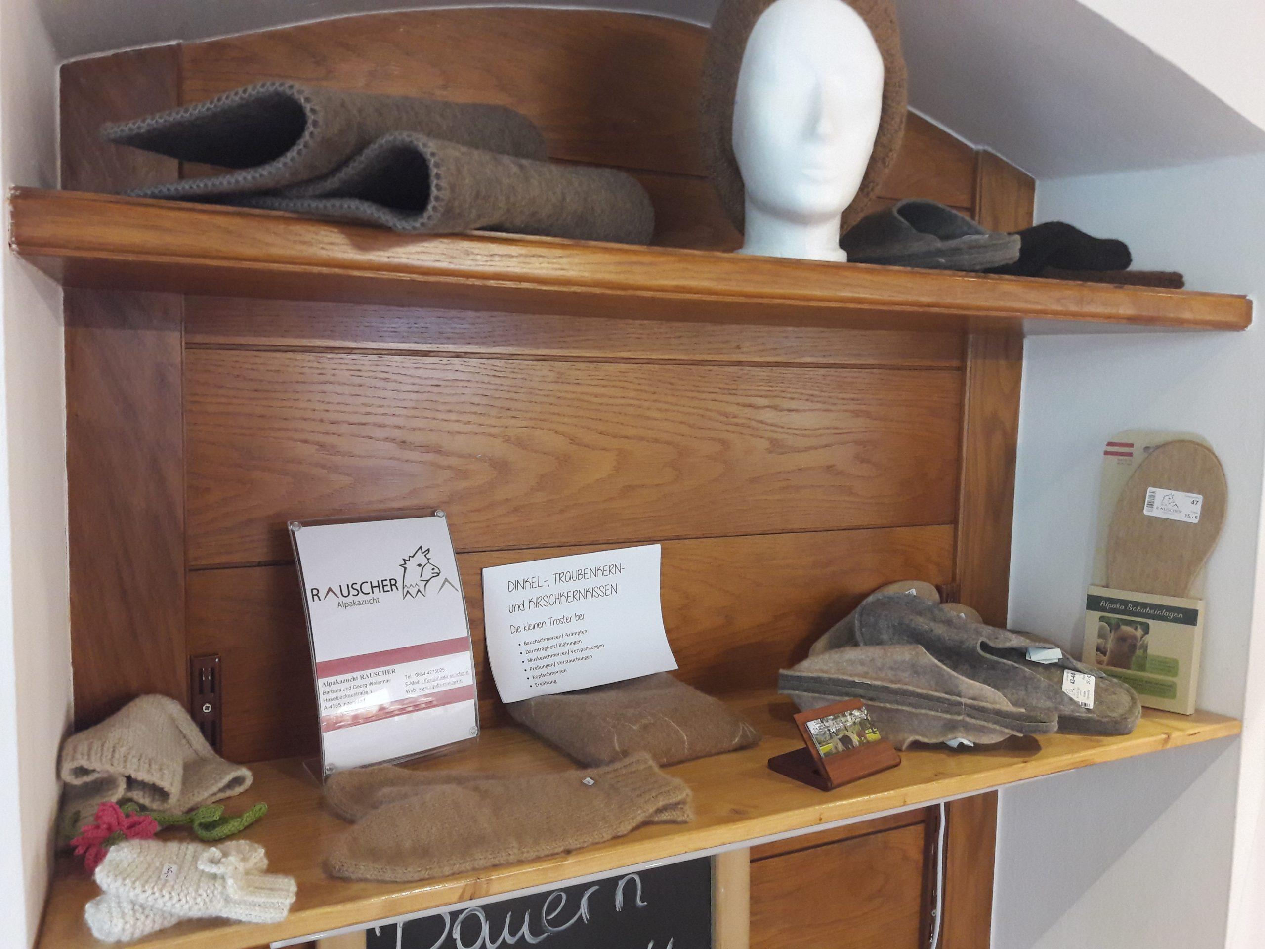 Produkte aus Alpakawolle